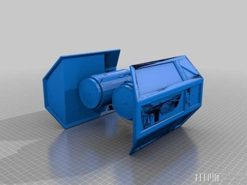 星球大战 钛战机 3D模型  图1