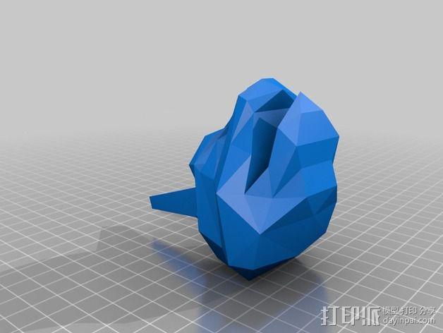 口袋妖怪大岩蛇 3D模型  图3