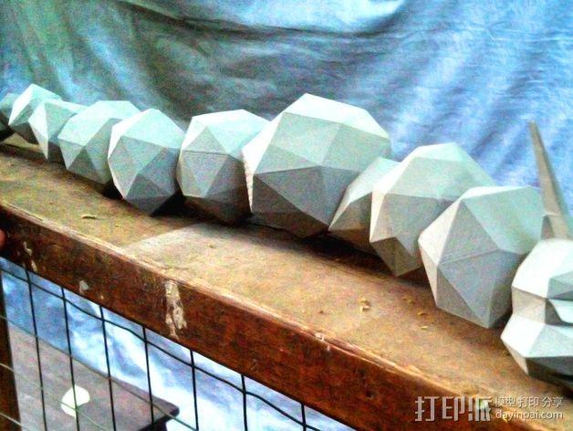 口袋妖怪大岩蛇 3D模型  图16