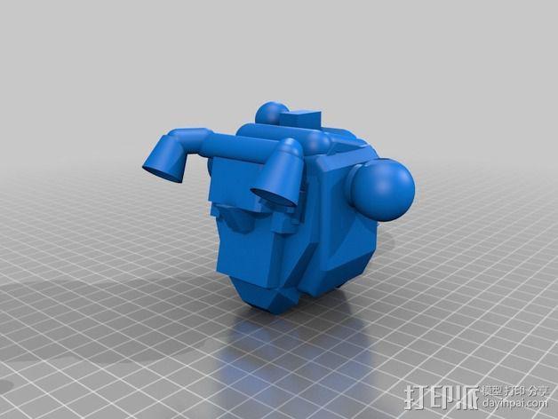 步行者机器人 3D模型  图2