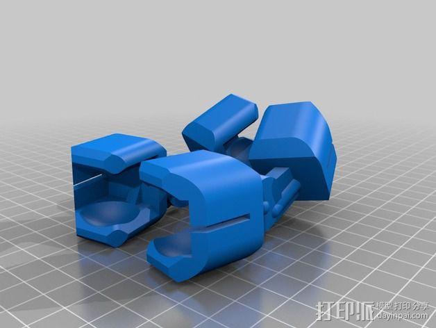 步行者机器人 3D模型  图3