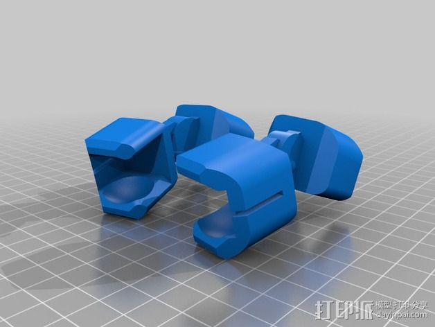 步行者机器人 3D模型  图4