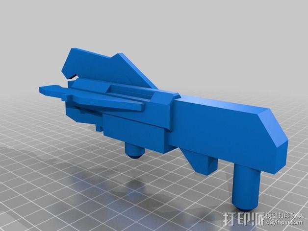 步行者机器人 3D模型  图8