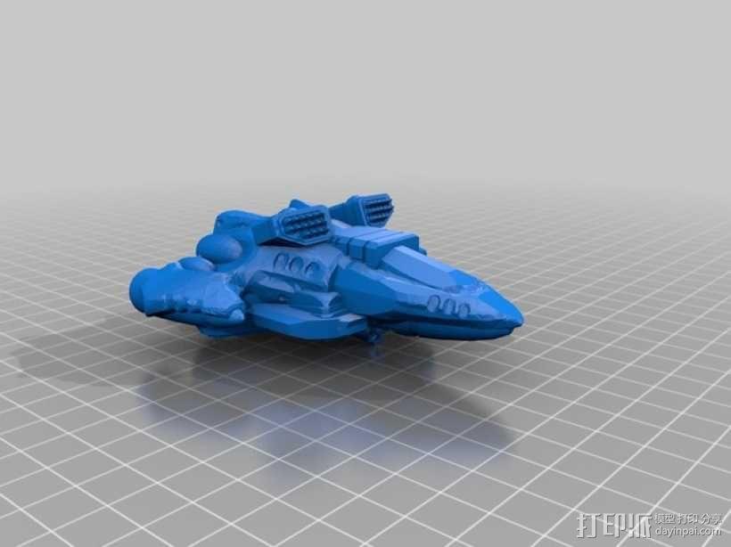 Dominion Striker直升飞机 3D模型  图5