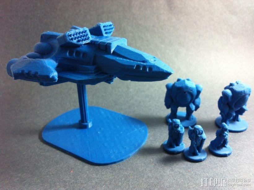 Dominion Striker直升飞机 3D模型  图2