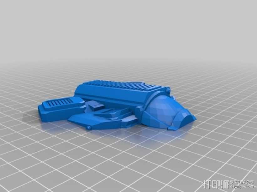 Cloudwasp运输机 3D模型  图6