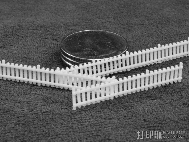 栅栏 篱笆 3D模型  图3