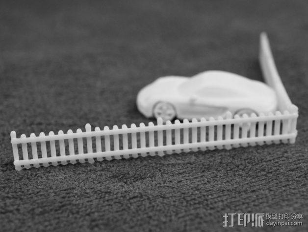 栅栏 篱笆 3D模型  图5