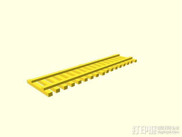栅栏 篱笆 3D模型  图4