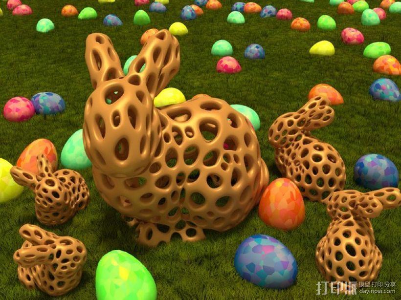 斯坦福兔子  3D模型  图1