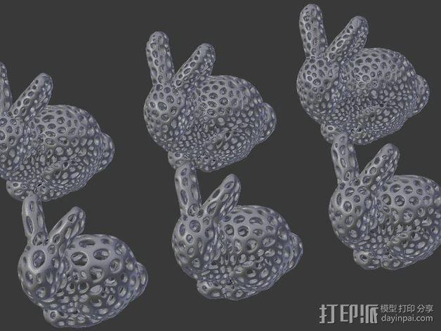斯坦福兔子  3D模型  图4