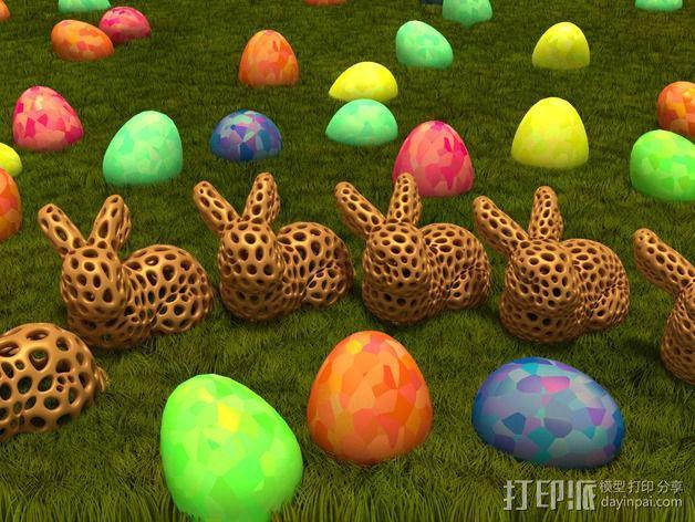 斯坦福兔子  3D模型  图2