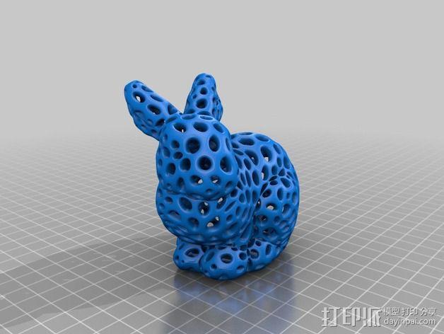 斯坦福兔子  3D模型  图6