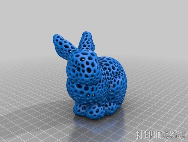 斯坦福兔子  3D模型  图8