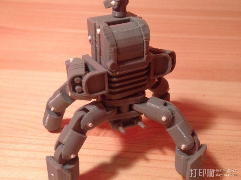 Mini Mech机器人 3D模型  图3