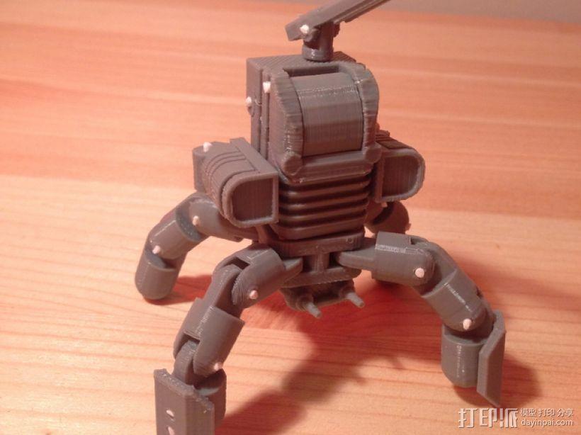 Mini Mech机器人 3D模型  图1