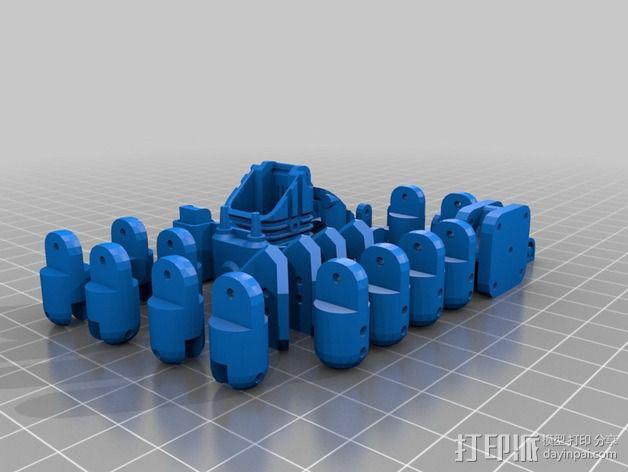 Mini Mech机器人 3D模型  图2