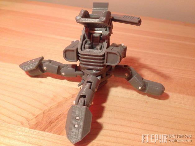 Mini Mech机器人 3D模型  图6