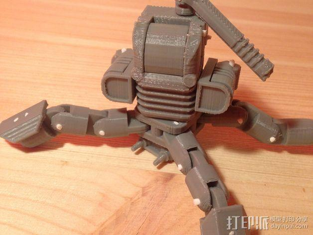 Mini Mech机器人 3D模型  图4