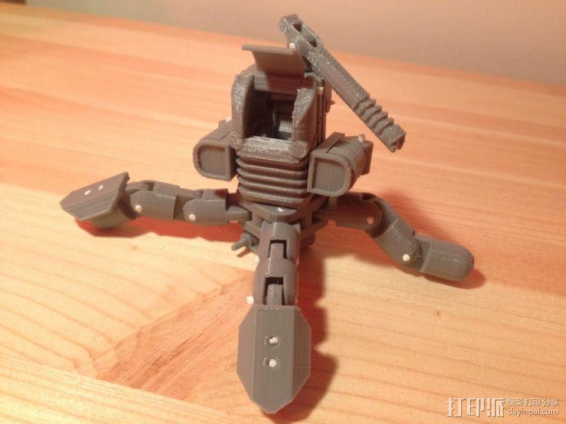 Mini Mech机器人 3D模型  图5
