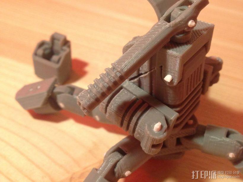 Mini Mech机器人 3D模型  图9