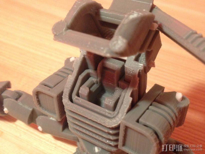 Mini Mech机器人 3D模型  图7