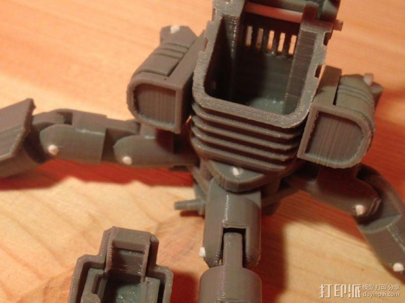 Mini Mech机器人 3D模型  图8