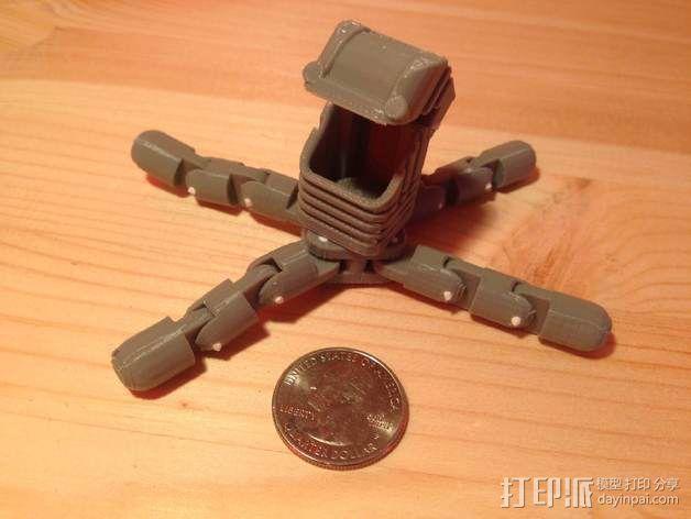 迷你四足机器人 3D模型  图4