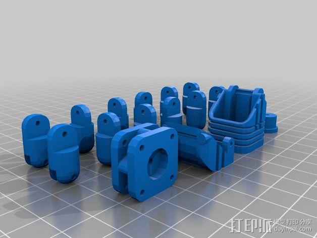 迷你四足机器人 3D模型  图7