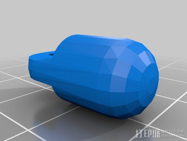 迷你四足机器人 3D模型  图9