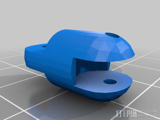 迷你四足机器人 3D模型  图11