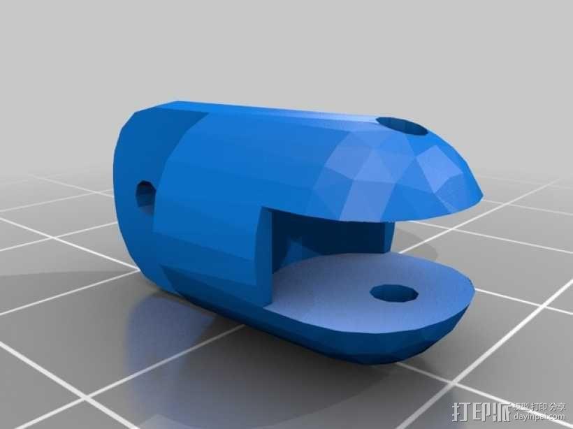迷你四足机器人 3D模型  图12