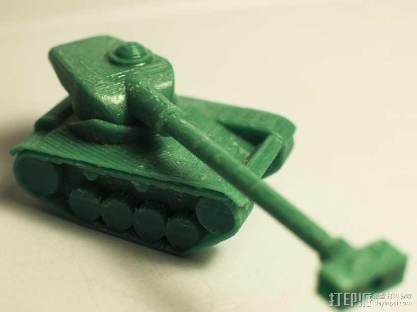 AMX 13 90坦克 3D模型  图1