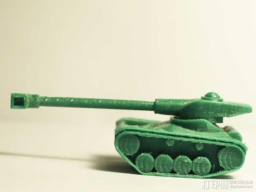 AMX 13 90坦克 3D模型  图3