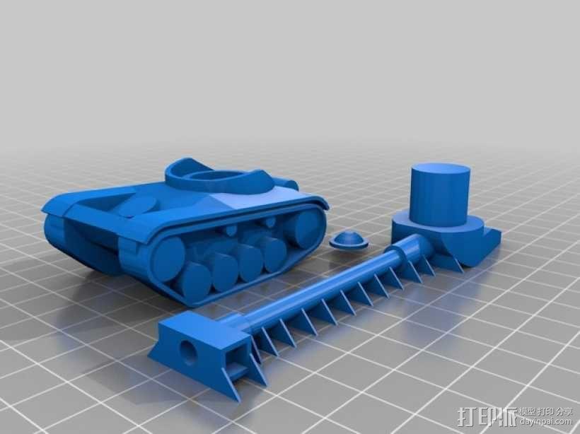 AMX 13 90坦克 3D模型  图7
