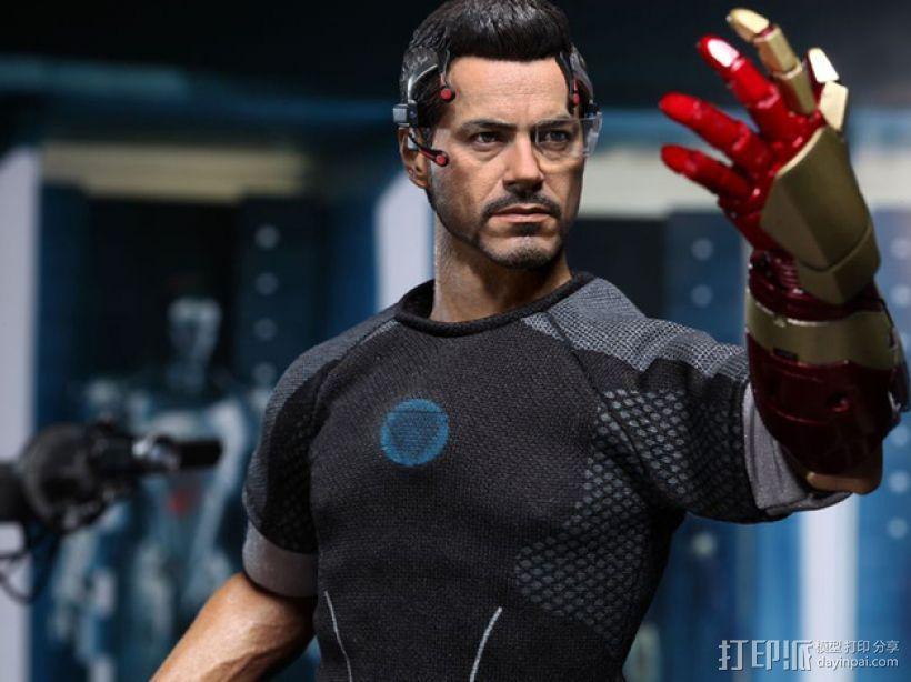 钢铁侠前臂盔甲 3D模型  图1