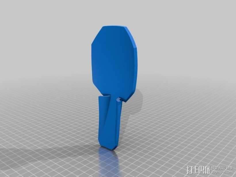 钢铁侠前臂盔甲 3D模型  图3