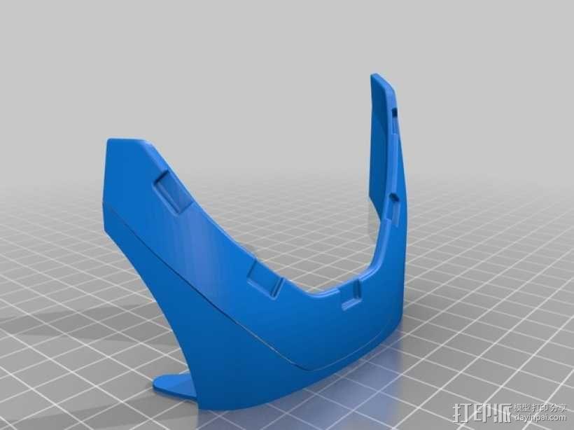 钢铁侠前臂盔甲 3D模型  图4