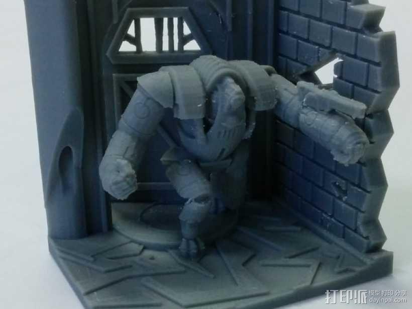 巨人机器人 3D模型  图1