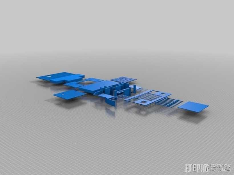 Casa Klotz建筑模型 3D模型  图2