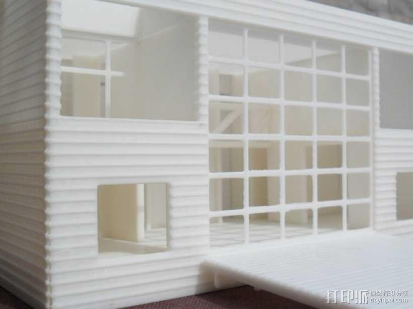 Casa Klotz建筑模型 3D模型  图1