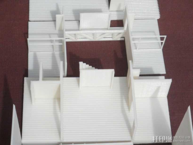 Casa Klotz建筑模型 3D模型  图4