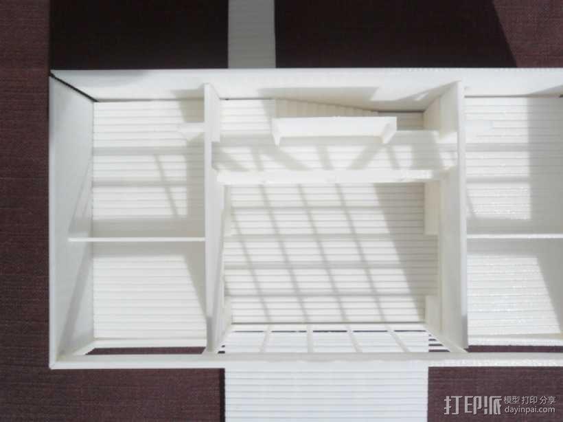 Casa Klotz建筑模型 3D模型  图5