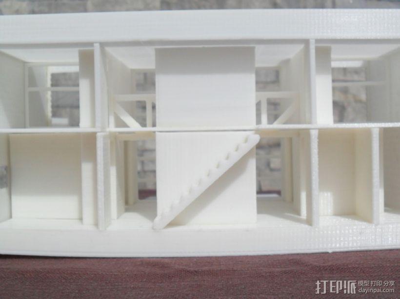 Casa Klotz建筑模型 3D模型  图6