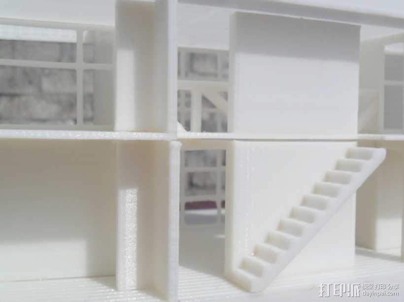 Casa Klotz建筑模型 3D模型  图3