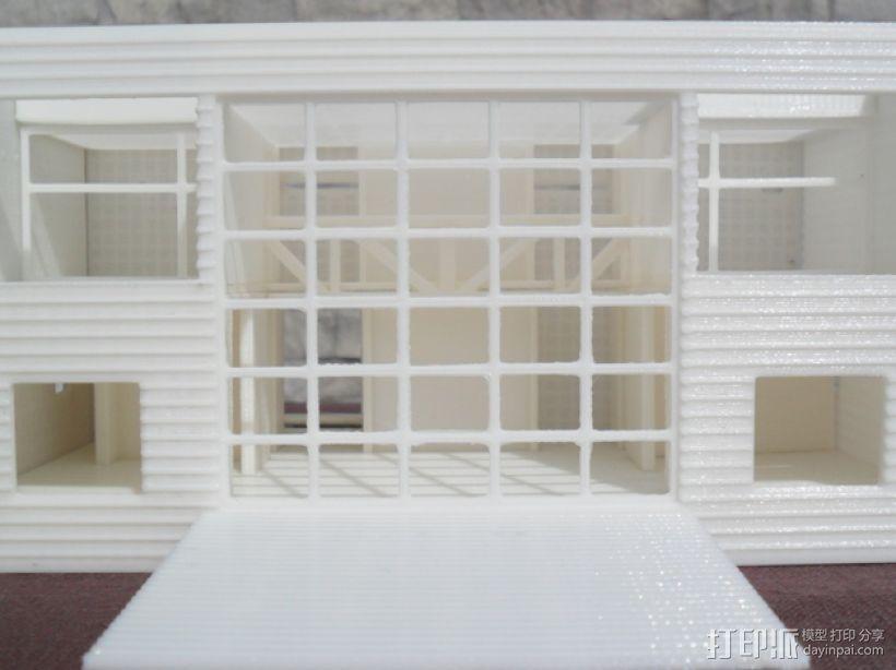 Casa Klotz建筑模型 3D模型  图7