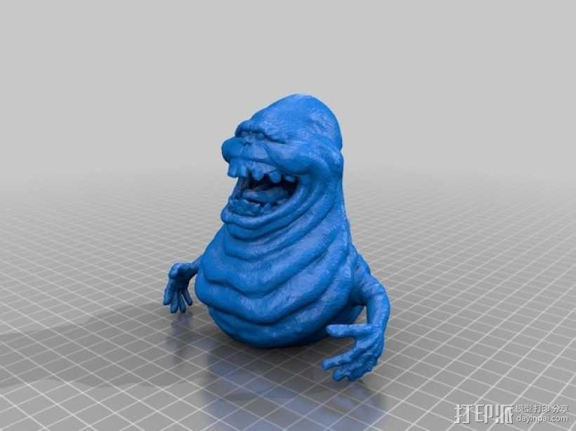 史莱姆模型 3D模型  图1