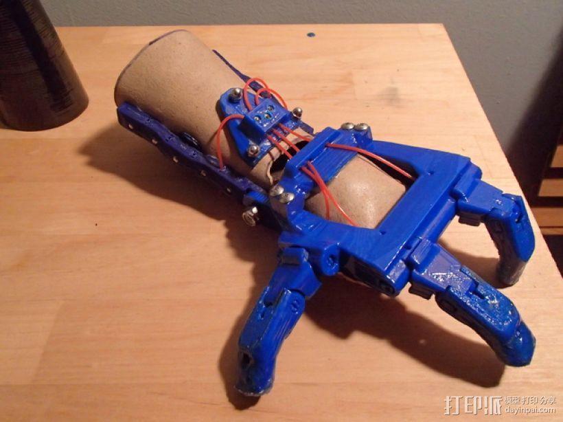 假肢 机械手 3D模型  图1