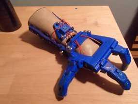 假肢 机械手 3D模型