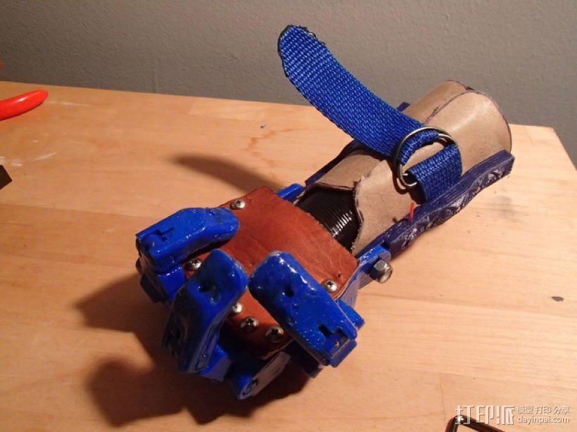 假肢 机械手 3D模型  图3
